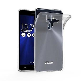 Cadorabo Case for Asus ZenFone 3 DELUXE Case Cover - Mobile Phone Case made of flexible TPU silicone - Silicone Case Protective Case Ultra Slim Soft Back Cover Case Bumper