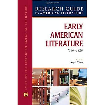 Tidig amerikansk litteratur, 1776-1820