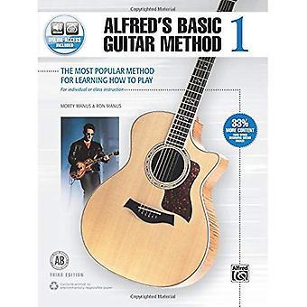 Alfreds Basic gitaar methode, de Bk 1: de meest populaire methode voor het leren hoe te spelen, Boek & Online Audio (Alfred...