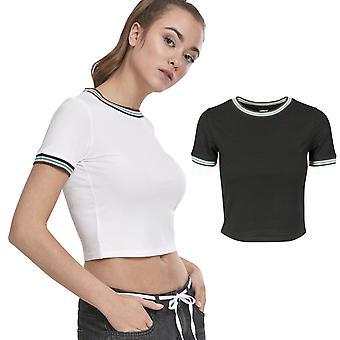 Urban classics damer - RIB kort topp skjorta