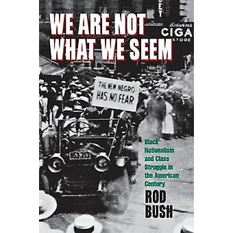 We are Not What We Seem - Black Nationalism and Class Struggle in the