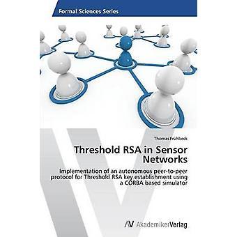 Tröskelvärdet RSA i sensornätverk av Frhbeck Thomas