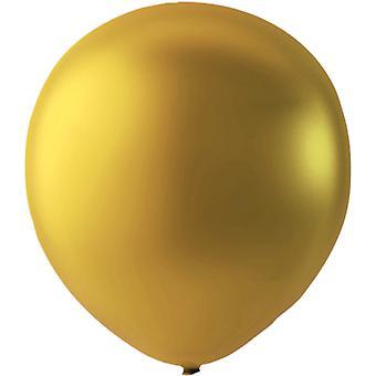 Balloons Latex Gold Metallic 10-pack 30 cm (12 inch)