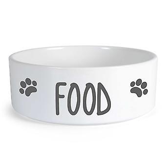 الغذاء كبير السيراميك الكلب السلطانية
