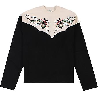 Kenzo Dragon Sweater Black