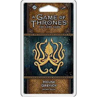 Game of Thrones LCG 2nd Edition House Greyjoy Intro Deck Card Game