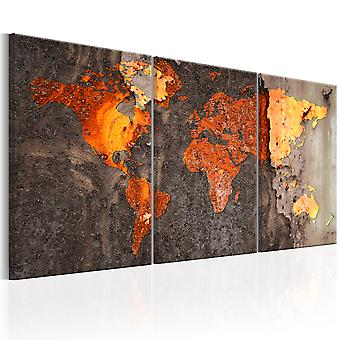 Tavla - World Map: Rusty World