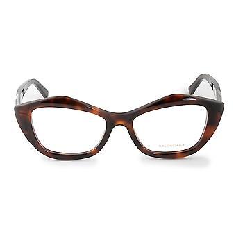 Balenciaga BA 5074 052 53 geometrice cat Eye ochelari rame