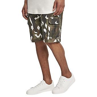 Urban Classics-stretch twill Cargo shorts træ camo