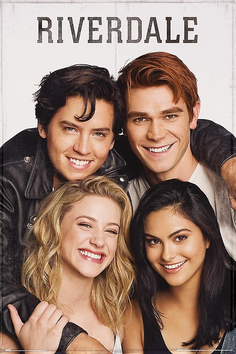 riverdale poster smile archie betty veronica and jughead fruugo uk riverdale poster smile archie betty veronica and jughead
