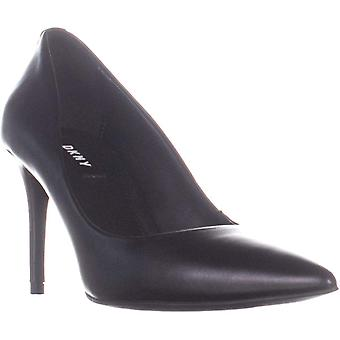 DKNY Womens Letty Pump Leather Pointed Toe Classic Pompes