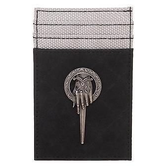 محفظة - لعبة العروش - يد من بطاقة جيب الملك الجبهة الجديدة mw70mmgth