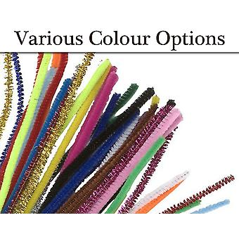 Choice of Colour & Pack Size Standard Craft Pipe Cleaners | Chenille Stems