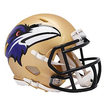 Riddell Speed Mini Football Helmet - NFL AMP Baltimore Ravens