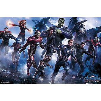 Poster - Studio B - Avengers Endgame - Legendary 36x24