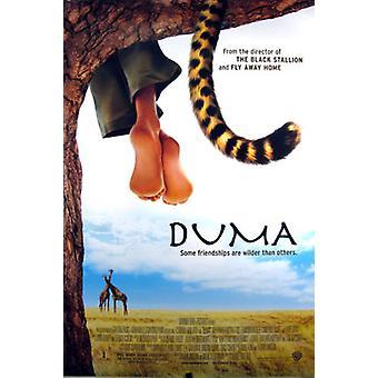 Duma (Double Sided Regular) Original Cinema Poster