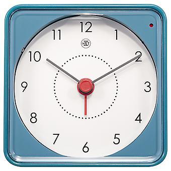 nXt - Alarm clock - 7.3 x 7.3 x 3.3 cm - Blue - 'Nathan'