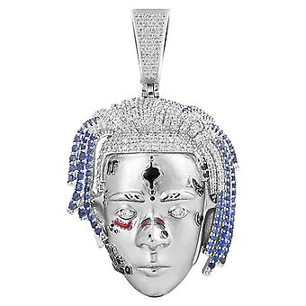 925 Sterling Silver 3D Pendant - EMPRESS