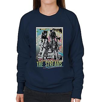 Ghostbusters Don't Cross The Streams Women's Sweatshirt