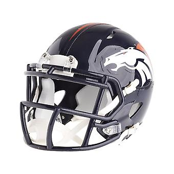 Riddell mini football helmet - NFL Denver Broncos speed