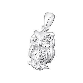 Uil - 925 Sterling Zilveren Juweliers - W3494x
