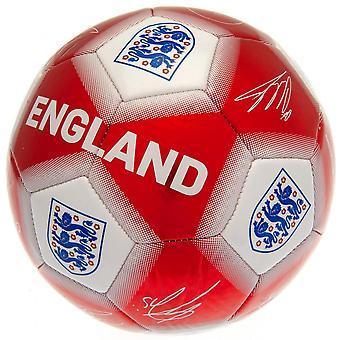 انكلترا الاتحاد الانجليزي لكرة القدم التوقيع