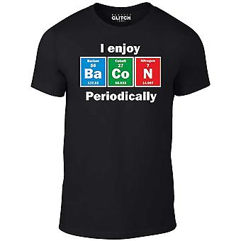 Uomini's mi piace pancetta periodicamente t-shirt.