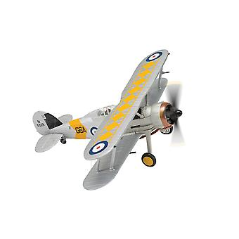 Gloster Sea Gladiator N5519/G6A HMS Glorious (802 Naval Air Squadron 1939) Diecast Model Airplane