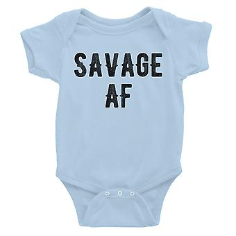 365 Drukowanie Savage AF Body body dla niemowląt Prezent Sky Blue Infant Kombinezon Baby Gift