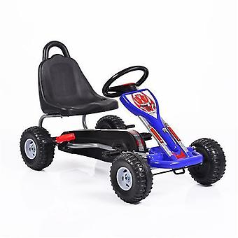 Children's go-kart A05 Falcon, pedal car, handbrake, plastic tyres, from 3 years