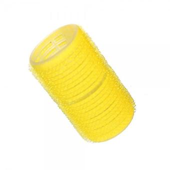 Hair tools cling rollers yellow 32mm x12
