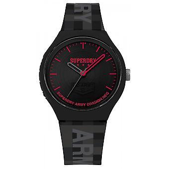 -Superdry Urban XL Pixel SYG251B OMB Watch black display analog man