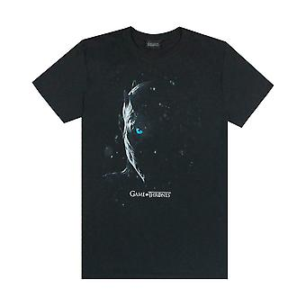 Game Of Thrones Night / Ice King White Walker Leader Men-apos;s Black T-Shirt