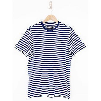 Barbour Delamere Stripe T.Shirt - Inky Blue