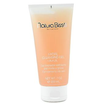 Natura Bisse Facial Cleansing Gel With Aha (for Normal To Oily Skin) - 200ml/7oz
