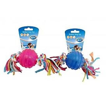 Duvo+ Tpr Ball Dog Toy Rope With Knots (Dogs , Toys & Sport , Balls)