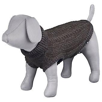 トリクシー ・ ラングレー ジャージーブラウン (犬、犬の服、セーター、パーカー)