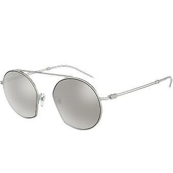 Emporio Armani EA2078 Silver Grey Mirror Silver 80