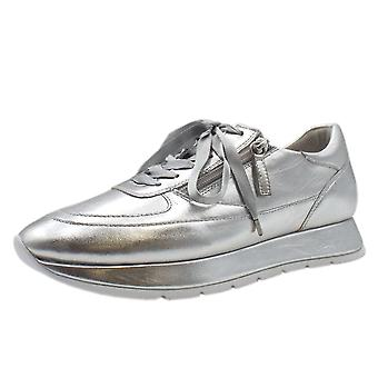 Högl 5-10 1321 The Cloud Lace Up Sneakers In Silver