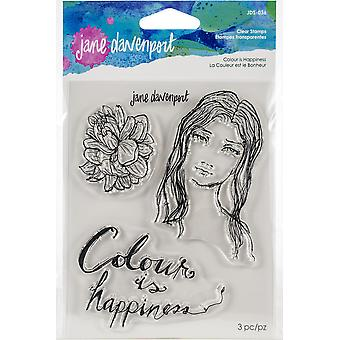 Jane Davenport Colour is Happiness Clear Stamps