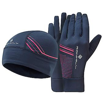 Ron Hill Mens Beanie & handschoenen licht Set met Regulite