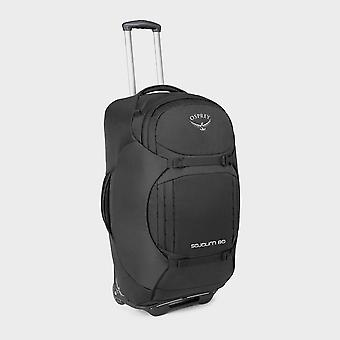 New Osprey Sojourn 80 Litre Wheeled Convertible Holdall Black
