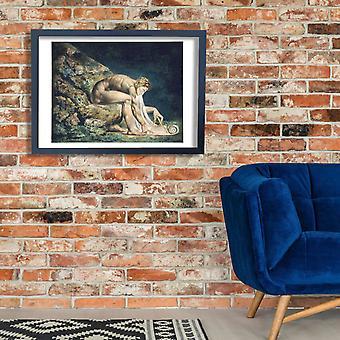 William Blake - Newton Poster Print Giclee