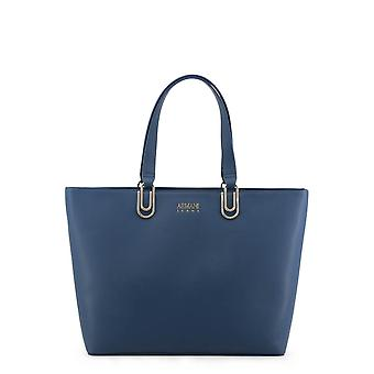 Armani Jeans Original Women All Year Shopping Bag - Blue Color 34290