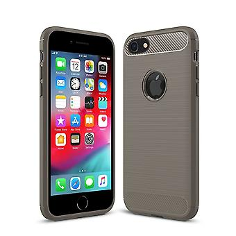 Brushed back carbon case for apple iphone 6s