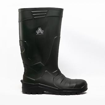 Amblers Teviot Unisex Wellington Boots Green