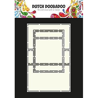 Hollandsk Doobadoo hollandsk kort kunst tekst trifold 2 470.713.650 A4