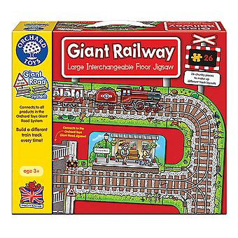 Gigantische spoorweg