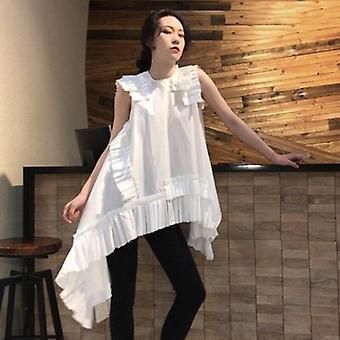 فستان صيفي صغير Assymetrical Sleeveless