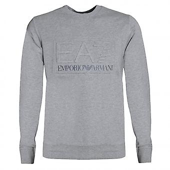 EA7 Men's Medium Grey Sweatshirt